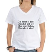 Twitched & Lost... Women's V-Neck T-Shirt