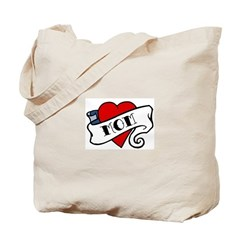 Tattoo Mom Tote Bag