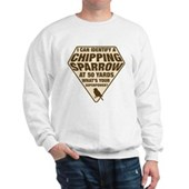 Birder Superhero Sweatshirt