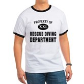 Rescue Diving Department Ringer T
