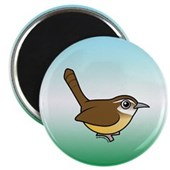 Birdorable Carolina Wren Magnet