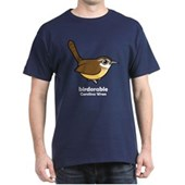 Birdorable Carolina Wren Dark T-Shirt