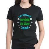 Enriched Air Diver 2008 Women's Dark T-Shirt