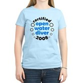 Open Water Diver 2008 Women's Light T-Shirt