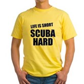 Scuba Hard Yellow T-Shirt