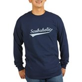 Scubaholic Long Sleeve Dark T-Shirt