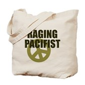 Raging Pacifist Tote Bag