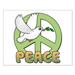 Birdorable Peace Dove Small Poster