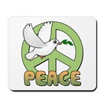 Birdorable Peace Dove Mousepad