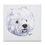 West Highland Terrier - Westi Tile Coaster