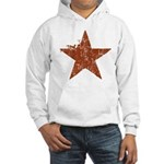 Rusty Star Hooded Sweatshirt