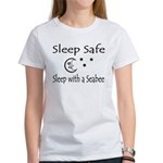 Sleep Safe Sleep with a Seabee Women's T-Shirt