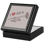 I Love Ska Keepsake Box