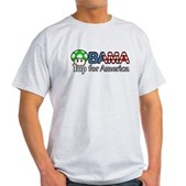 Obama 1up for America Light T-Shirt