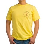 3 Year Breast Cancer Survivor Yellow T-Shirt