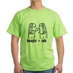 Hoagie vs Sub Green T-Shirt