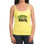 Green is the new Black Jr. Spaghetti Tank