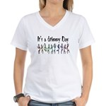 It's a Stimmy Day! Women's V-Neck T-Shirt