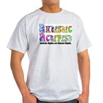 Autistic Activist v1 Light T-Shirt