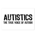 True Voice of Autism Postcards (Package of 8)
