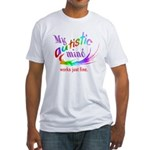 My Autistic Mind Fitted T-Shirt