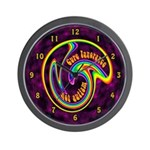 Cure Ignorance (Rainbow) Wall Clock