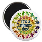 Stimmy Day 2.25&quot; Magnet (100 pack)