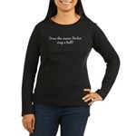 Pavlov Ring a Bell Women's Long Sleeve Dark T-Shirt
