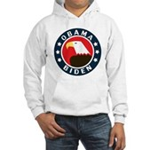 Obama-Biden Eagle Hooded Sweatshirt