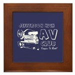 AV Club - Keepin It Reel! Framed Tile