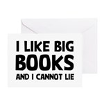 I Like Books Greeting Card
