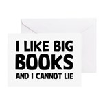 I Like Big Books Greeting Card
