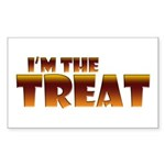 Glowing I'm the Treat Rectangle Sticker (Rectangle)