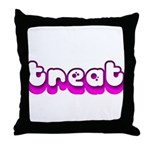Retro Treat Throw Pillow