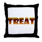 Glowing Treat Throw Pillow