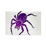 Purple Spider Rectangle Magnet