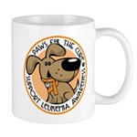 Paws for the Cure: Leukemia Mug