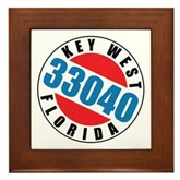 Key West 33040 Framed Tile