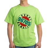 Kauai Hawaii 96705 Green T-Shirt