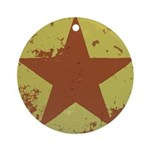 Rusty Star Keepsake (Round)
