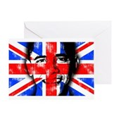 America loves Barack Obama. The world loves Barack Obama. And Britain loves Barack Obama! Obama's face is superimposed over the British flag. Brits for Obama will love this U.K. Obama design.