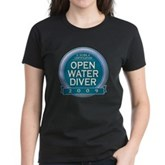 Open Water Diver 2009 Women's Dark T-Shirt