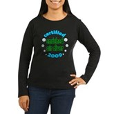 Nitrox Diver 2009 Women's Long Sleeve Dark T-Shirt