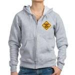 May Contain Nuts! Women's Zip Hoodie