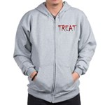 Bloody Treat Zip Hoodie