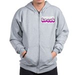 Retro Treat Zip Hoodie