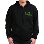 Bad Witch Zip Hoodie (dark)