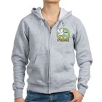 Birdorable Peace Dove Women's Zip Hoodie