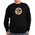 Paws for the Cure: Leukemia Sweatshirt (dark)