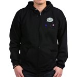 Carbon Dating Zip Hoodie (dark)